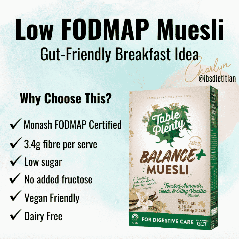 Balance+ muesli Low FODMAP